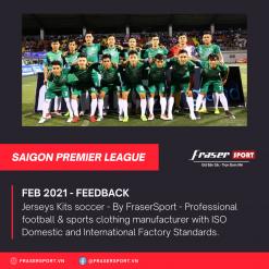 Bộ quần áo bóng đá thiết kế Saigon Premier League