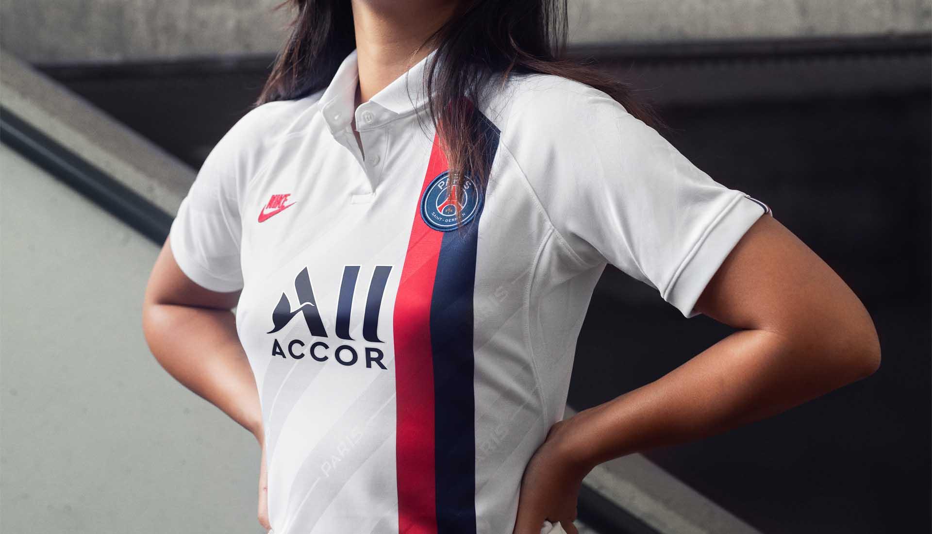 Mẫu áo thứ 3 của tuyển PSG mùa giải 2019/20